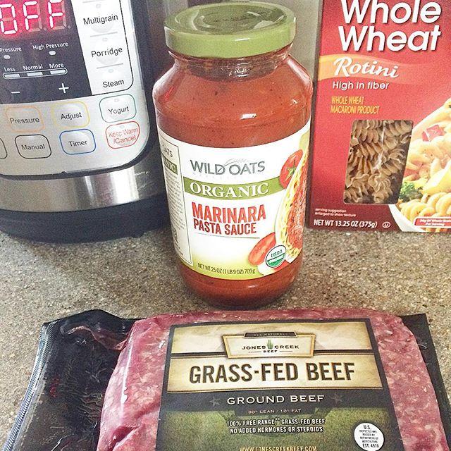 Beefy Whole Wheat Rotini