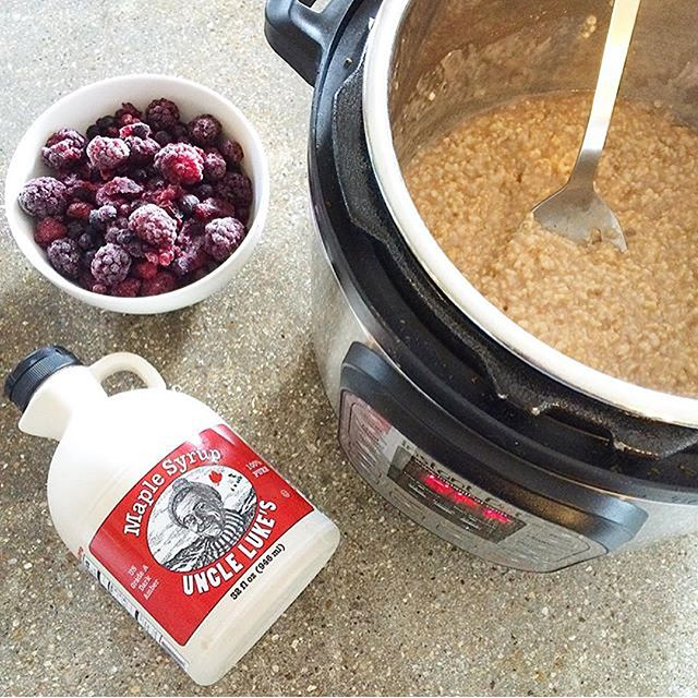 Oatmeal in the Instant Pot